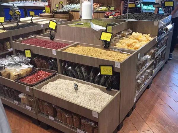 超市组合堆精品堆