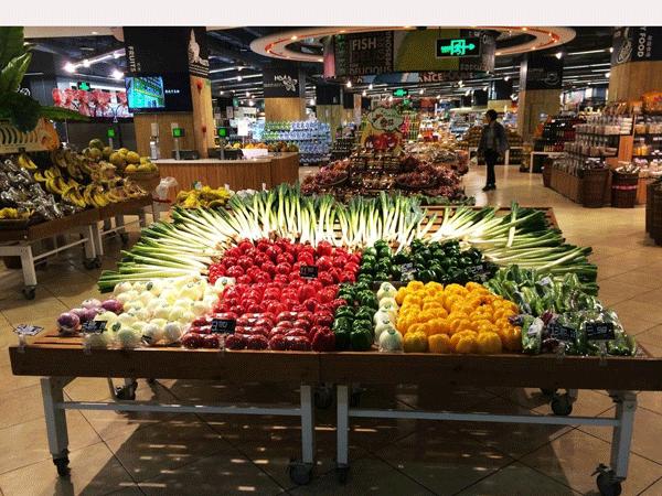 超市高档水果优德88官方案例展示