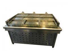 苏州优德88官方厂家定做不锈钢冰鲜台